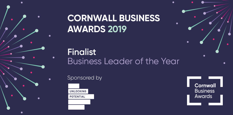 Cornwall business awards - Business Leader of the Year award