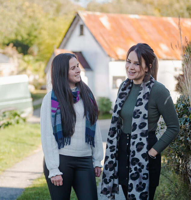 About Whyfield's Founders - Laura Whyte & Roxane Neave
